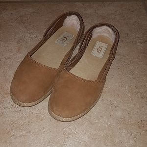 UGG Tippie leather shoes womens sz 7
